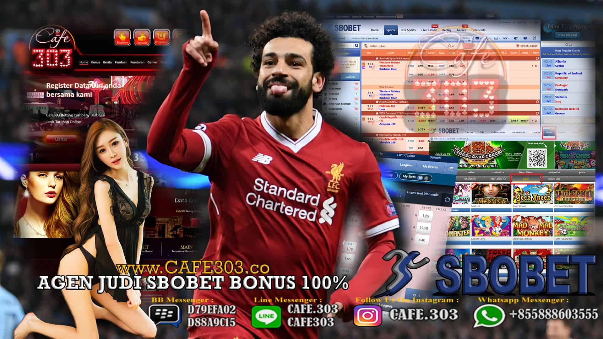 Bandar Judi Bola Bonus Terbesar 2019